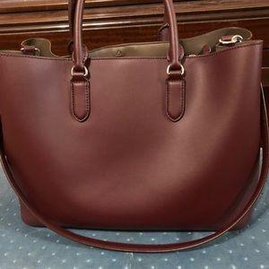 Ralph Lauren leather satchel handbag